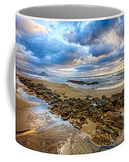 Coffee Mug featuring the photograph Golden Winter Storm by Beth Sargent