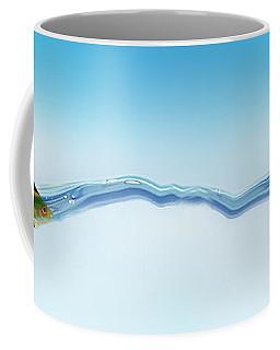 Goldfish Wearing Shark Fin Coffee Mug