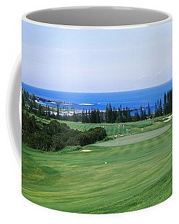 Golf Course At The Oceanside, Kapalua Coffee Mug