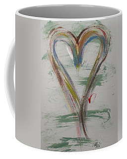 Golf Heart Coffee Mug