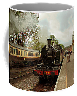Goliath The Engine And Anna Coffee Mug by Terri Waters