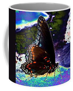 Gona-fly-butterfly Coffee Mug by Kim Pate