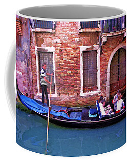 Coffee Mug featuring the photograph Gondola 4 by Allen Beatty