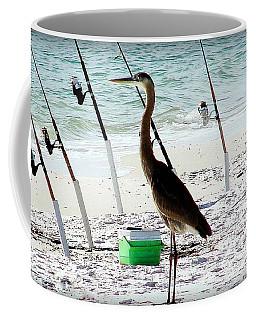 Gone Fishing Coffee Mug by Debra Forand
