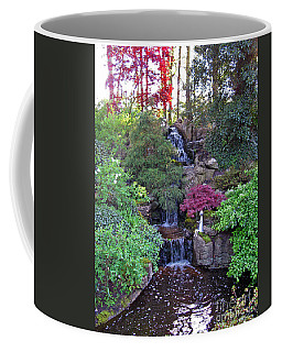 Coffee Mug featuring the photograph Gone Fishing. Keukenhof Gardens. Holland by Ausra Huntington nee Paulauskaite