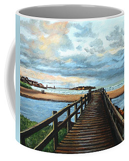Good Harbor Beach Gloucester Coffee Mug by Eileen Patten Oliver