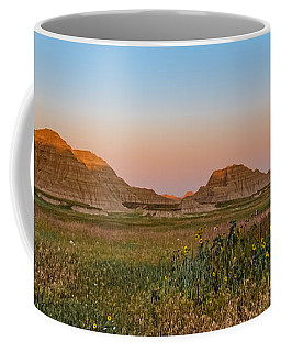 Coffee Mug featuring the photograph Good Morning Badlands II by Patti Deters