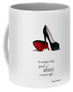 Good Shoes Coffee Mug