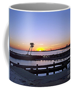 Coffee Mug featuring the photograph Goodbye Sun by Roberta Byram