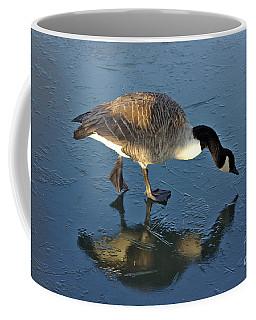 Goose On Ice Coffee Mug
