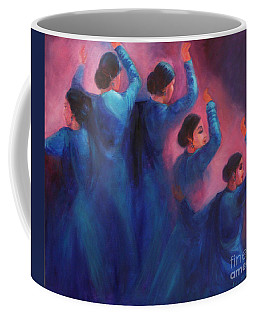 Gopis Dancing In The Dusk Coffee Mug
