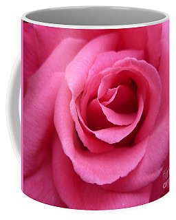Coffee Mug featuring the photograph Gorgeous Pink Rose by Vicki Spindler