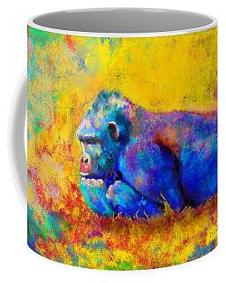 Coffee Mug featuring the painting Gorilla by Sean McDunn
