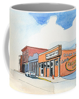 Coffee Mug featuring the painting Gosport Indiana 1 by Katherine Miller