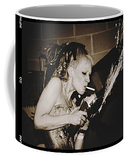 Coffee Mug featuring the photograph Got A Light by Alice Gipson