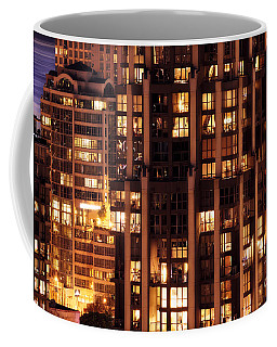 Coffee Mug featuring the photograph Gothic Living - Yaletown Ccclxxx by Amyn Nasser