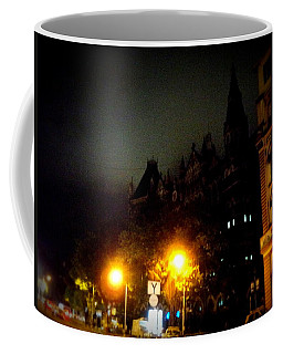 Coffee Mug featuring the photograph Gothic Skyline by Salman Ravish