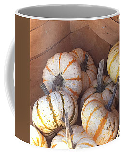 Coffee Mug featuring the photograph Gourd Harvest by Denyse Duhaime