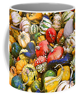 Gourds And Pumpkins At The Farmers Market Coffee Mug