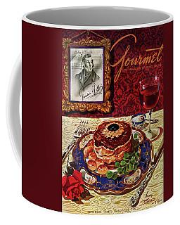 Gourmet Cover Featuring A Plate Of Tournedos Coffee Mug