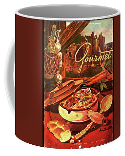 Gourmet Cover Featuring A Pot Of Stew Coffee Mug