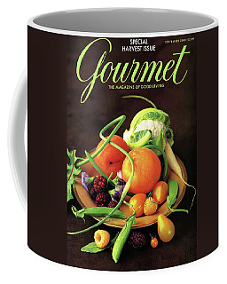 Gourmet Cover Featuring A Variety Of Fruit Coffee Mug