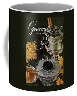 Gourmet Cover Featuring A Wine Cooler Coffee Mug