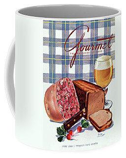 Gourmet Cover Featuring Bread Coffee Mug
