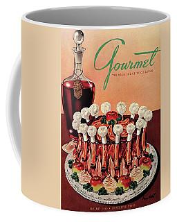 Gourmet Cover Illustration Of A Crown Roast Coffee Mug