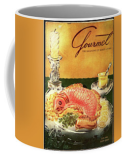 Gourmet Cover Illustration Of Salmon Mousse Coffee Mug