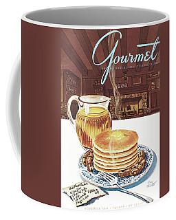 Gourmet Cover Of Pancakes Coffee Mug