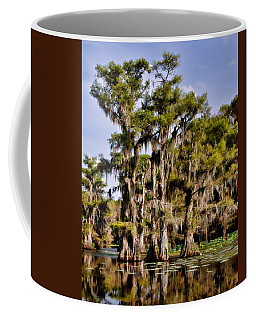 Coffee Mug featuring the photograph Grace Of Caddo by Lana Trussell
