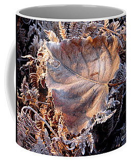 Graced By Frost Coffee Mug by Rory Sagner