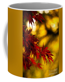 Graceful Leaves Coffee Mug by Mike Reid