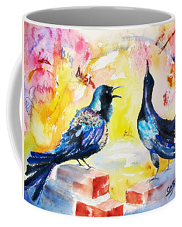 Grackles And Graffiti  Coffee Mug