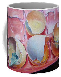 Coffee Mug featuring the painting Grade A-extra Large by Pamela Clements