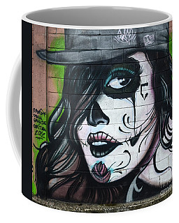 Graffiti Art Curitiba Brazil 21 Coffee Mug by Bob Christopher