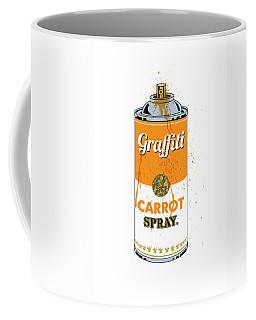 Graffiti Carrot Spray Can Coffee Mug