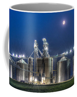 Grain Processing Plant Coffee Mug by Paul Freidlund