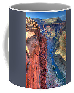 Grand Canyon Awe Inspiring Coffee Mug by Bob Christopher