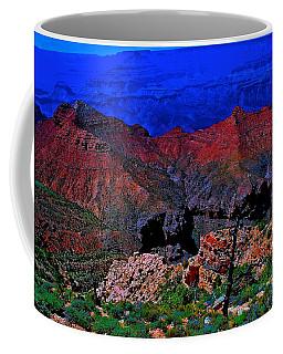 Grand Canyon Beauty Exposed Coffee Mug by Jim Hogg