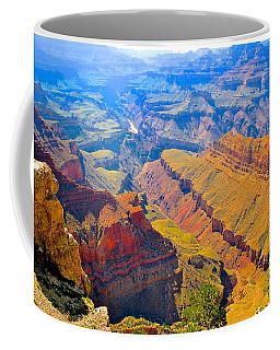 Grand Canyon In Vivid Color Coffee Mug by Jim Hogg