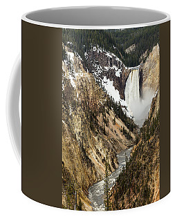 Coffee Mug featuring the photograph Grand Canyon Of The Yellowstone by Michael Chatt