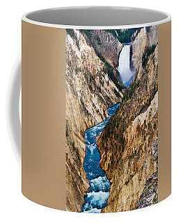 Grand Canyon Of Yellowstone Coffee Mug