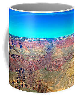 Coffee Mug featuring the photograph Grand Canyon Panorama by Penny Lisowski
