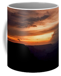 Coffee Mug featuring the photograph Grand Canyon Sunset  by Connie Fox