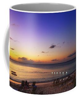 Coffee Mug featuring the photograph Grand Cayman Sunset by Lars Lentz
