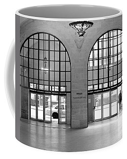 Coffee Mug featuring the photograph Grand Central Arches Entrance by Dave Beckerman