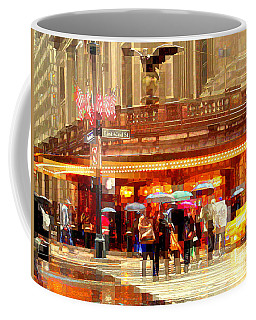 Grand Central Station In The Rain - New York Coffee Mug