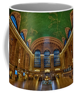 Grand Central Station Coffee Mug by Susan Candelario